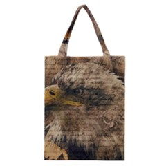 Vintage Eagle  Classic Tote Bag by Valentinaart