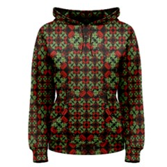 Asian Ornate Patchwork Pattern Women s Pullover Hoodie by dflcprintsclothing