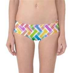 Abstract Pattern Colorful Wallpaper Classic Bikini Bottoms