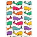 Small Rainbow Whales iPad Air Flip View1
