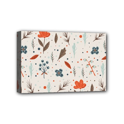 Seamless Floral Patterns  Mini Canvas 6  X 4  by TastefulDesigns