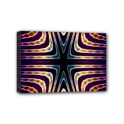 Colorful Seamless Vibrant Pattern Mini Canvas 6  X 4  by Simbadda