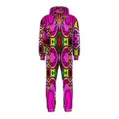 Love Hearths Colourful Abstract Background Design Hooded Jumpsuit (kids)