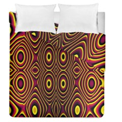 Vibrant Pattern Duvet Cover Double Side (queen Size)