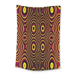 Vibrant Pattern Small Tapestry by Simbadda