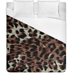 Background Fabric Animal Motifs Duvet Cover (california King Size) by Simbadda