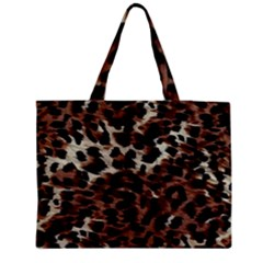 Background Fabric Animal Motifs Medium Tote Bag by Simbadda