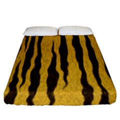 Seamless Fur Pattern Fitted Sheet (king Size) by Simbadda
