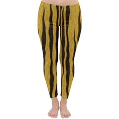 Seamless Fur Pattern Classic Winter Leggings