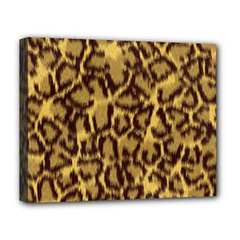 Seamless Animal Fur Pattern Deluxe Canvas 20  X 16