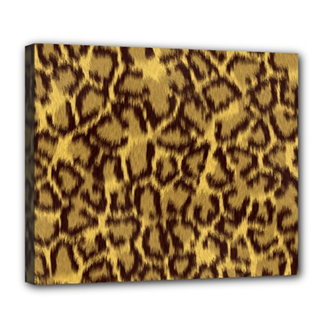 Seamless Animal Fur Pattern Deluxe Canvas 24  X 20   by Simbadda
