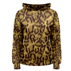 Seamless Animal Fur Pattern Women s Pullover Hoodie by Simbadda