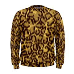 Seamless Animal Fur Pattern Men s Sweatshirt by Simbadda
