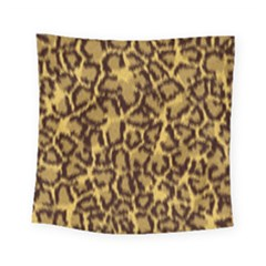 Seamless Animal Fur Pattern Square Tapestry (small) by Simbadda