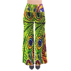 Glass Tile Peacock Feathers Pants by Simbadda