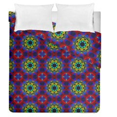 Abstract Pattern Wallpaper Duvet Cover Double Side (queen Size)