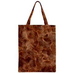 Brown Seamless Animal Fur Pattern Classic Tote Bag by Simbadda