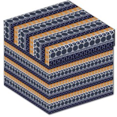 Abstract Elegant Background Pattern Storage Stool 12