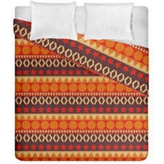Abstract Lines Seamless Pattern Duvet Cover Double Side (california King Size) by Simbadda