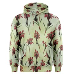 Vintage Style Seamless Floral Wallpaper Pattern Background Men s Pullover Hoodie by Simbadda