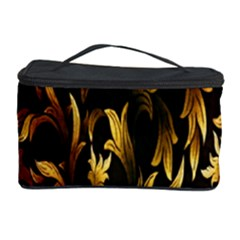 Loral Vintage Pattern Background Cosmetic Storage Case by Simbadda