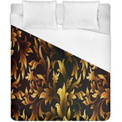 Loral Vintage Pattern Background Duvet Cover (california King Size)