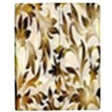 Floral Vintage Pattern Background Apple iPad 3/4 Flip Case View1