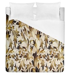 Floral Vintage Pattern Background Duvet Cover (queen Size) by Simbadda