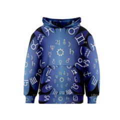 Astrology Birth Signs Chart Kids  Pullover Hoodie by Amaryn4rt