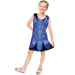 Astrology Birth Signs Chart Kids  Tunic Dress by Amaryn4rt