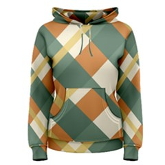 Autumn Plaid Women s Pullover Hoodie