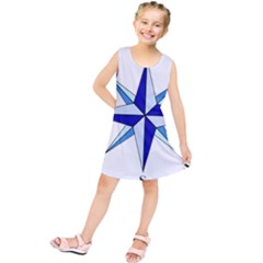 Compass Blue Star Kids  Tunic Dress