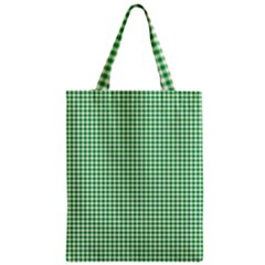 Green Tablecloth Plaid Line Classic Tote Bag by Alisyart
