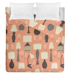 Lamps Duvet Cover Double Side (queen Size)