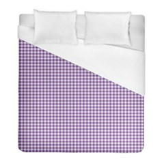 Purple Tablecloth Plaid Line Duvet Cover (full/ Double Size) by Alisyart