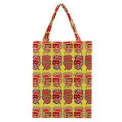 Funny Faces Classic Tote Bag by Amaryn4rt