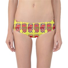 Funny Faces Classic Bikini Bottoms by Amaryn4rt