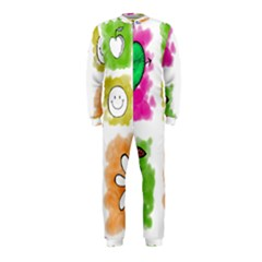 A Set Of Watercolour Icons OnePiece Jumpsuit (Kids)