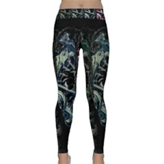 Wild Child Classic Yoga Leggings by Valentinaart
