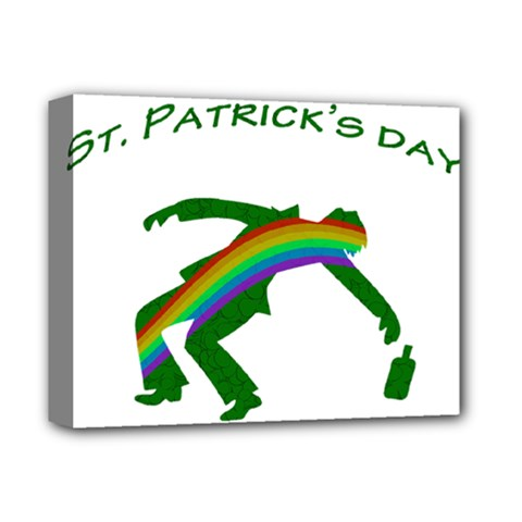 St  Patricks Deluxe Canvas 14  X 11  by Valentinaart