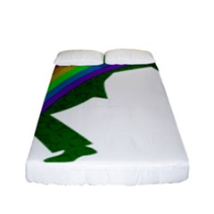 St  Patricks Fitted Sheet (full/ Double Size) by Valentinaart