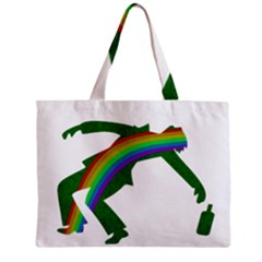 St  Patricks Zipper Mini Tote Bag by Valentinaart