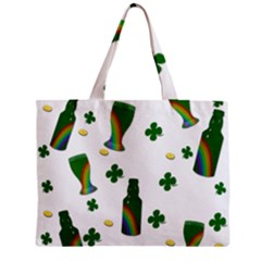 St  Patricks Day  Zipper Mini Tote Bag by Valentinaart