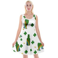 St  Patricks Day  Reversible Velvet Sleeveless Dress by Valentinaart