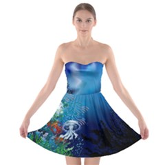 Sea2 Strapless Bra Top Dress by Wanni