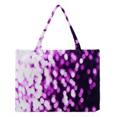 Bokeh Background In Purple Color Medium Tote Bag by Amaryn4rt
