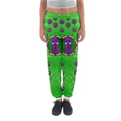 Smoking Hot Cartoon Lady Women s Jogger Sweatpants by pepitasart