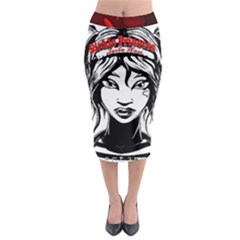 Sickle Cell Is Me Picsart 1482705574799 Midi Pencil Skirt by shawnstestimony