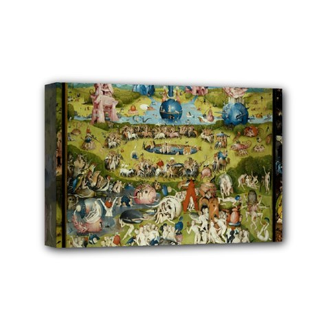 Hieronymus Bosch Garden Of Earthly Delights Mini Canvas 6  X 4  by MasterpiecesOfArt