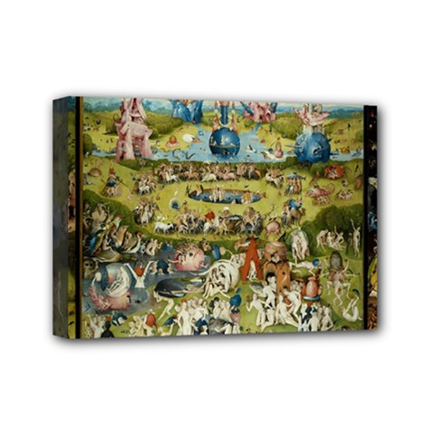Hieronymus Bosch Garden Of Earthly Delights Mini Canvas 7  X 5  by MasterpiecesOfArt